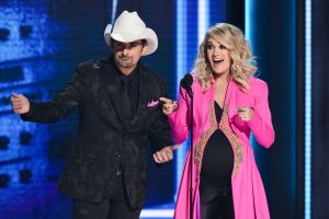 Brad Paisley, Carrie Underwood52nd Annual CMA Awards, Arrivals, Nashville, USA - 14 Nov 2018