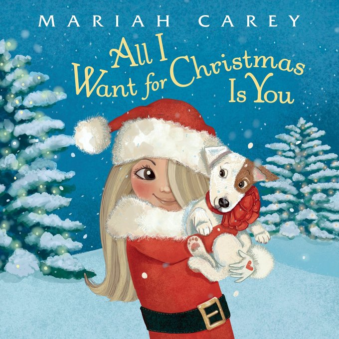 Mariah Carey 'All I Want for Christmas Is You' book