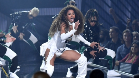 Ciara at the 2018 American Music