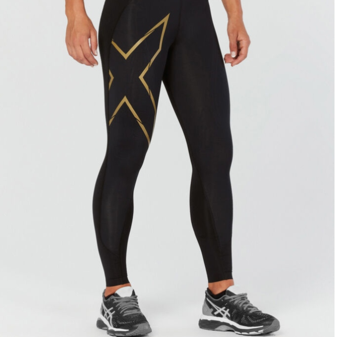 Celebrity Gift Guide: MCS Cross Training Compression Tights in Black/Gold