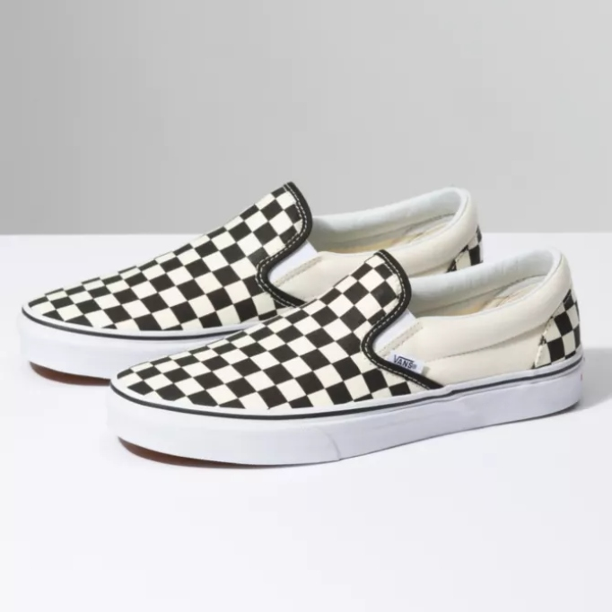 Celebrity Gift Guide: Checkerboard Slip-On Vans