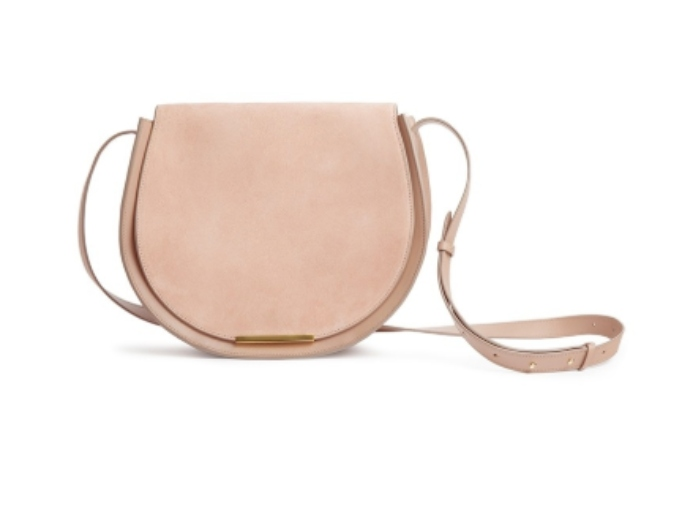 Celebrity Gift Guide: Mini Saddle Bag in Nude by Cuyana