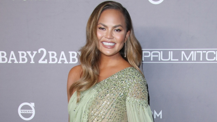 How Chrissy Teigen Got Ready for