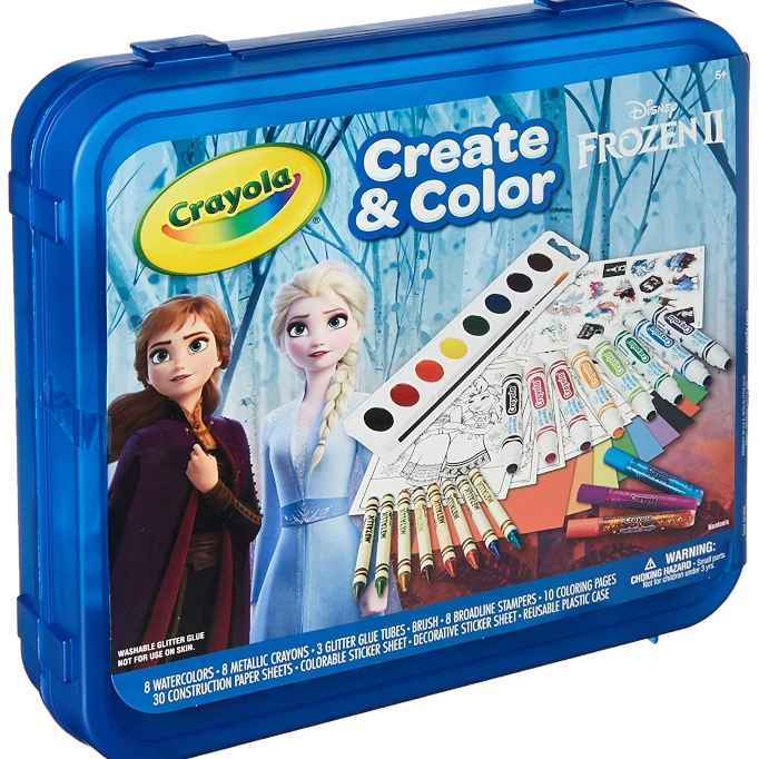 'Frozen 2' Gift Idea: 'Frozen 2' Create & Color Set