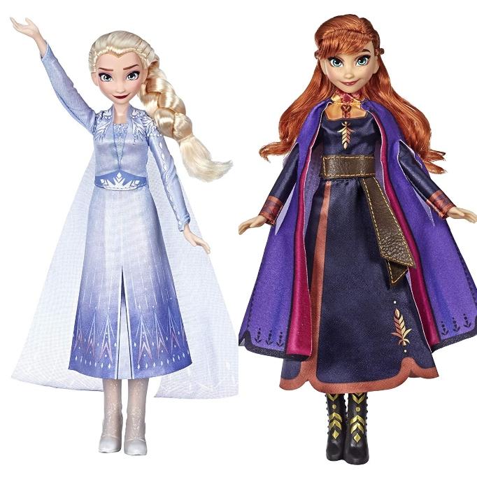 'Frozen 2' Gift Idea: Singing Elsa & Anna Dolls