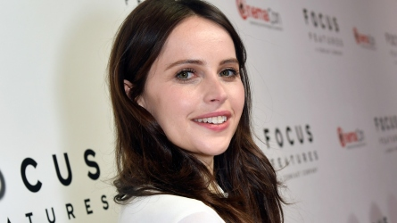Felicity Jones is pregnant with her