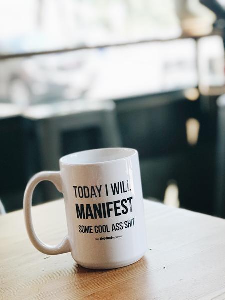 'Mainfest' mug