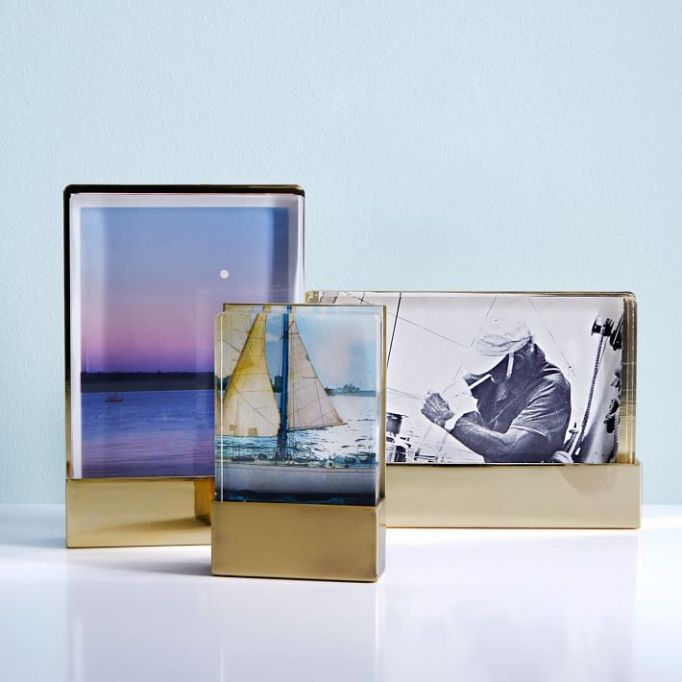 Acrylic and metal frames