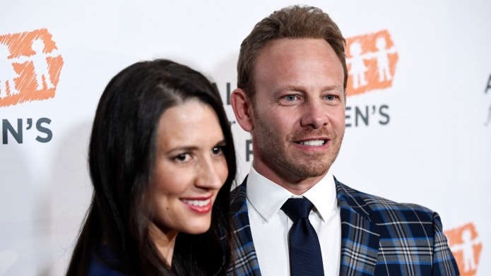 Ian Ziering and Erin Ludwig are