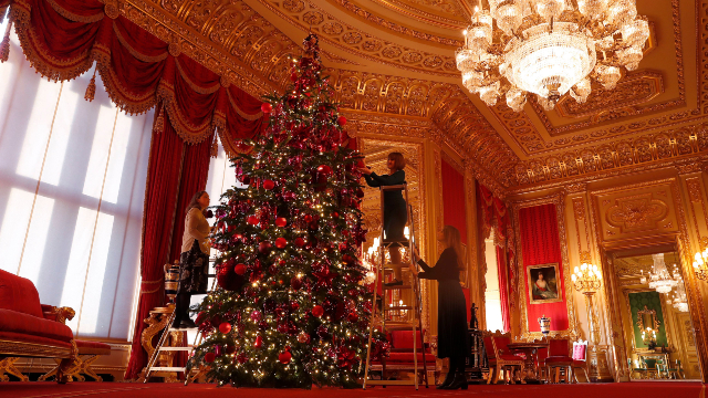 Christmas, Windsor, United Kingdom - 29 Nov 2019
