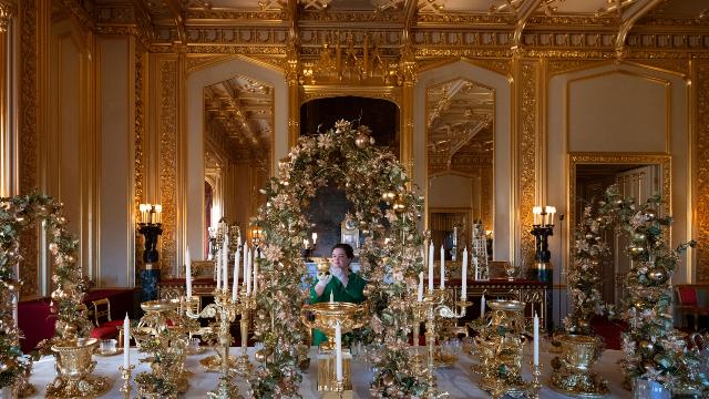 Christmas at Windsor Castle, UK - 29 Nov 2019