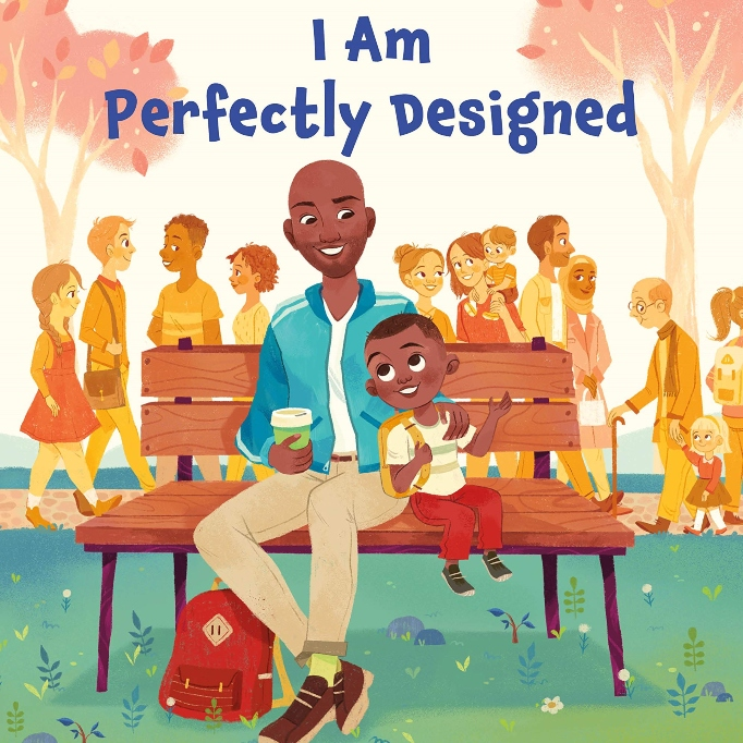 Cover of Karamo Brown's children's book 'I Am Perfectly Designed'