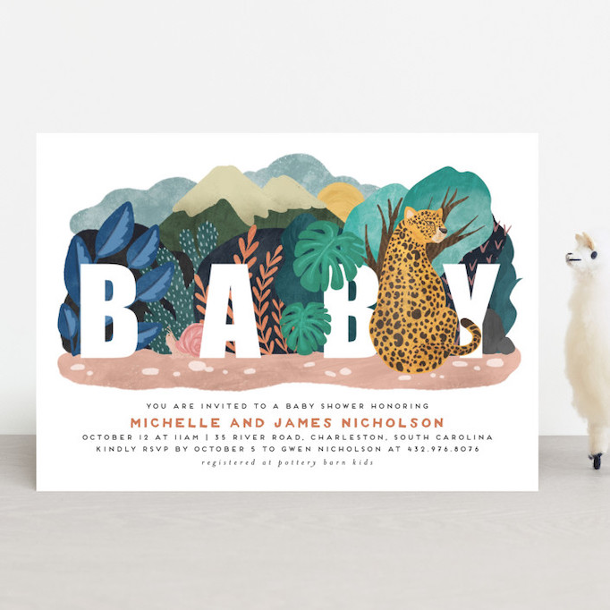 Baby Shower Invitations That Will Delight Every Guest: Camouflage Warriors