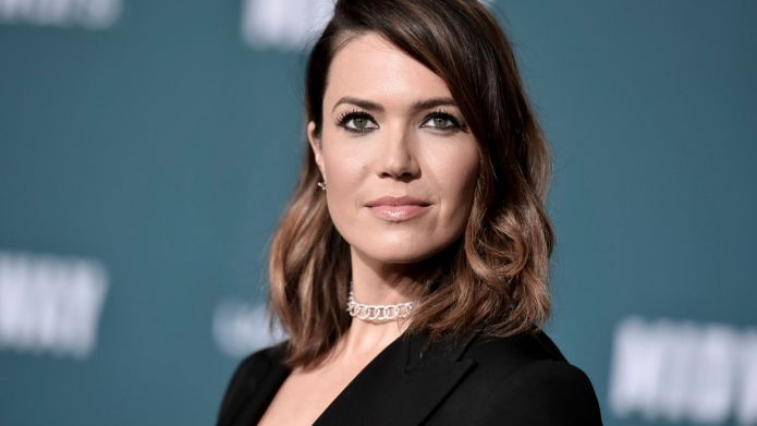 Mandy Moore attends the world premiere