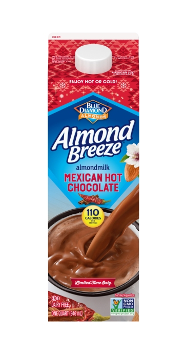 Almond Breeze Mexican Hot Chocolate