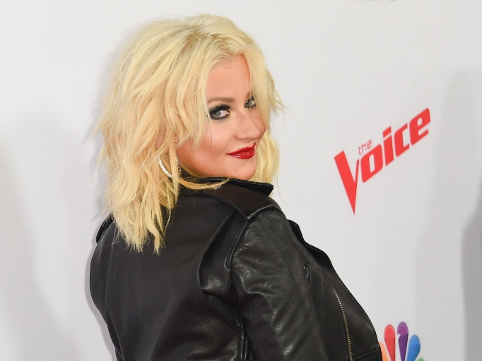 Celebs Who Have Parents in the Military: Christina Aguilera
