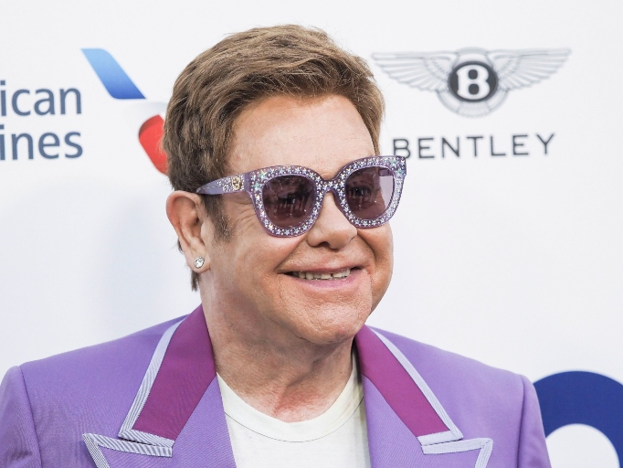Celebs Who Have Parents in the Military: Elton John