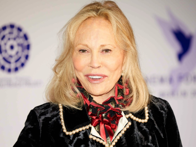 Celebs Who Have Parents in the Military: Faye Dunaway
