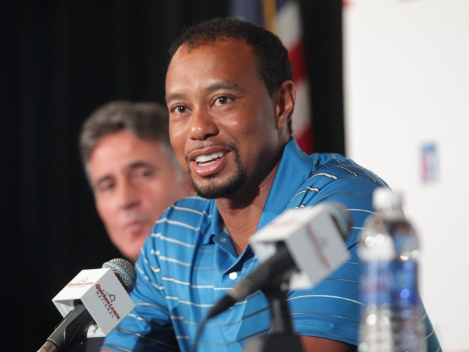 Celebs Who Have Parents in the Military: Tiger Woods