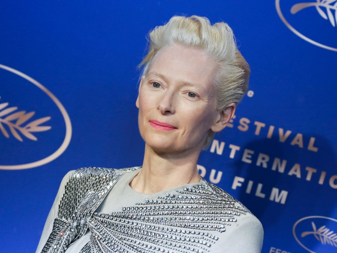 Celebs Who Have Parents in the Military: Tilda Swinton