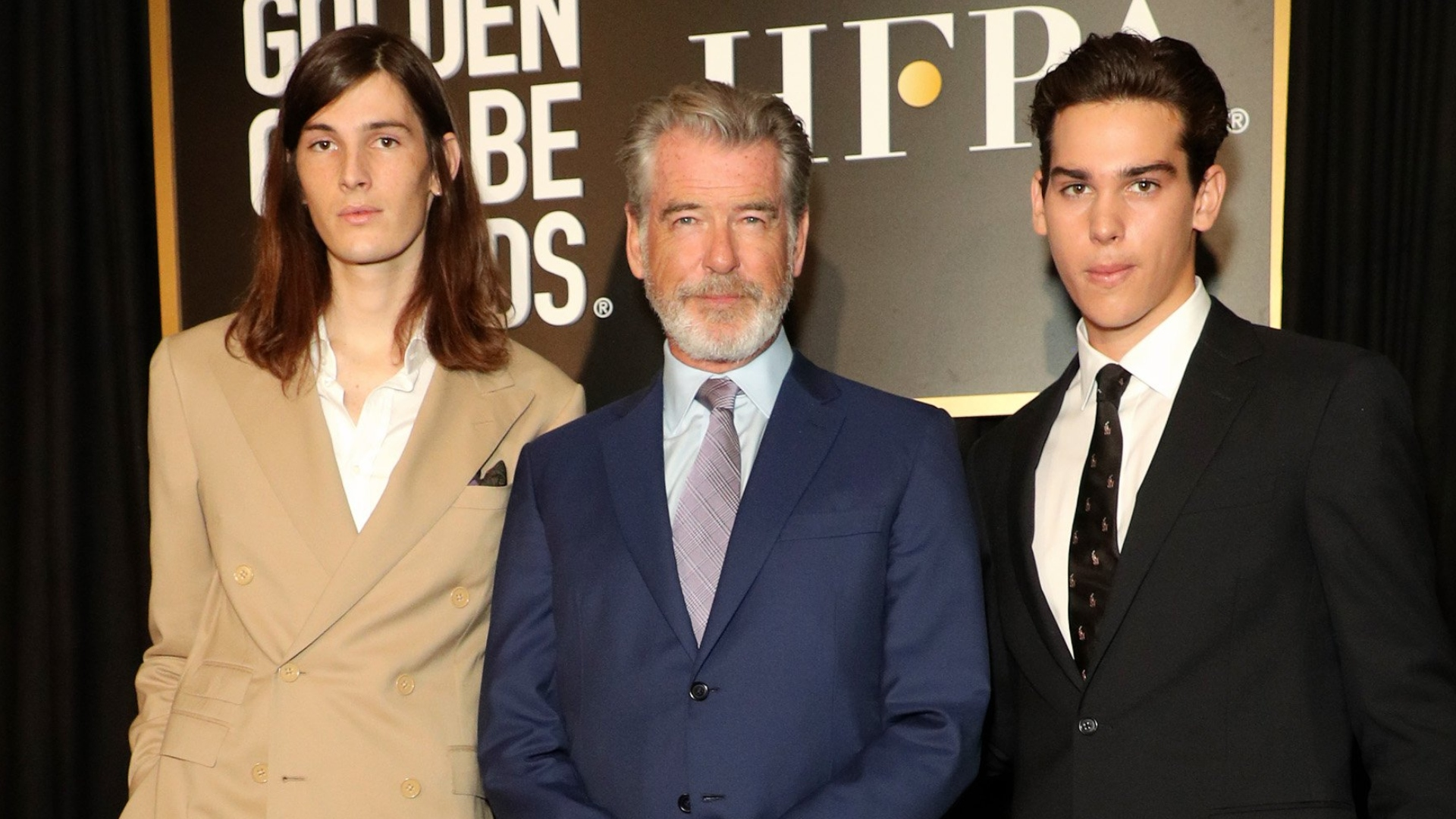 Dylan and Paris Brosnan Are the First Brothers to Be Named Golden Globe Ambassadors - SheKnows