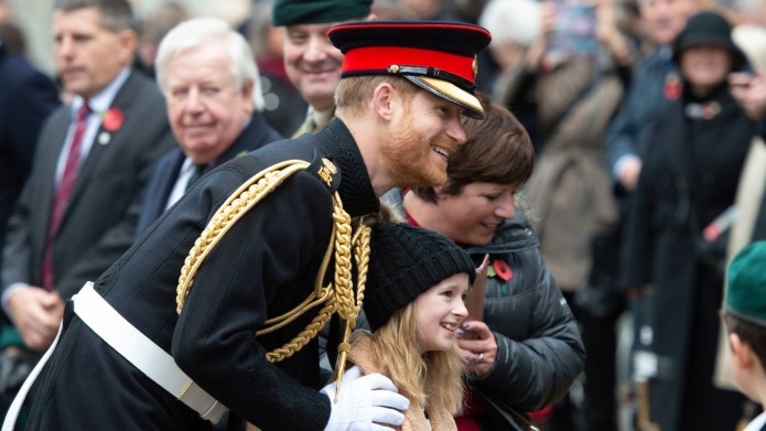 Prince Harry is hinting at wanting