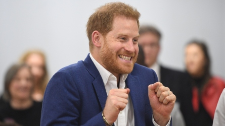 Prince Harry took Archie to playgroup