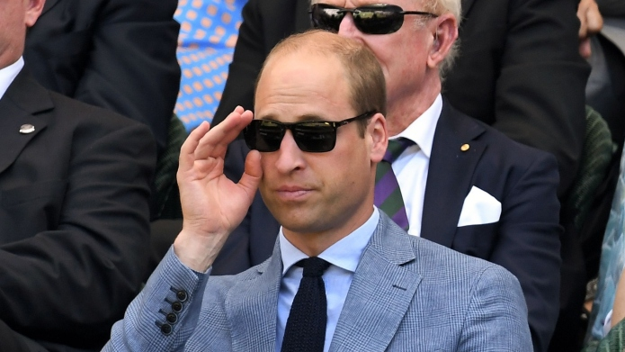 Prince William says his only hobby
