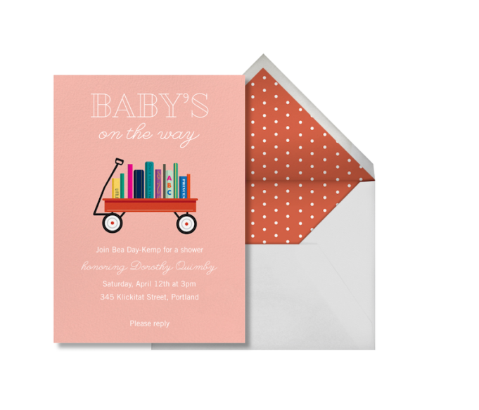 Baby Shower Invitations That Will Delight Every Guest: Book Shower