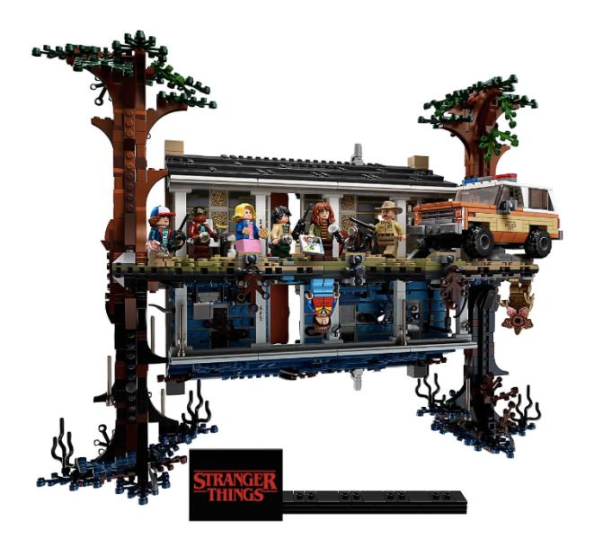 "Hanukkah Kid Gifts: Stranger Things ""The Upside Down"" Lego Set"