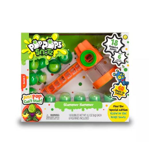 Hanukkah Kid Gifts: Pop Pops Snotz Hammer Toys Collections