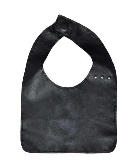 Trendy Bibs For Babies With Impeccable Style: The Black Bib