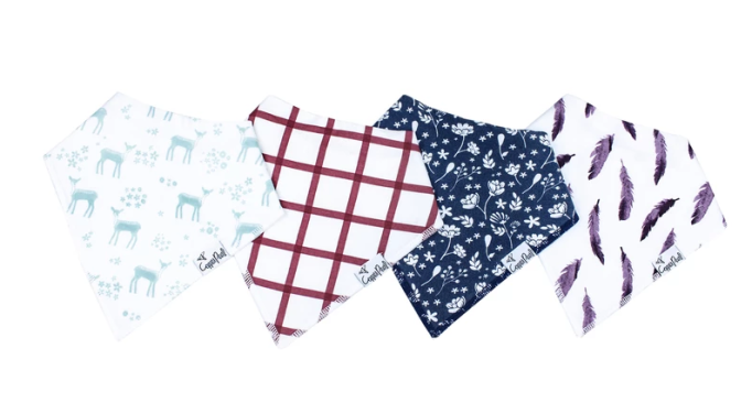 Trendy Bibs For Babies With Impeccable Style: Fawn Baby Bandana Bibs