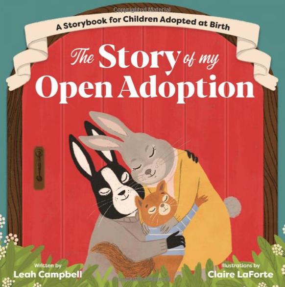 Open adoption children's book