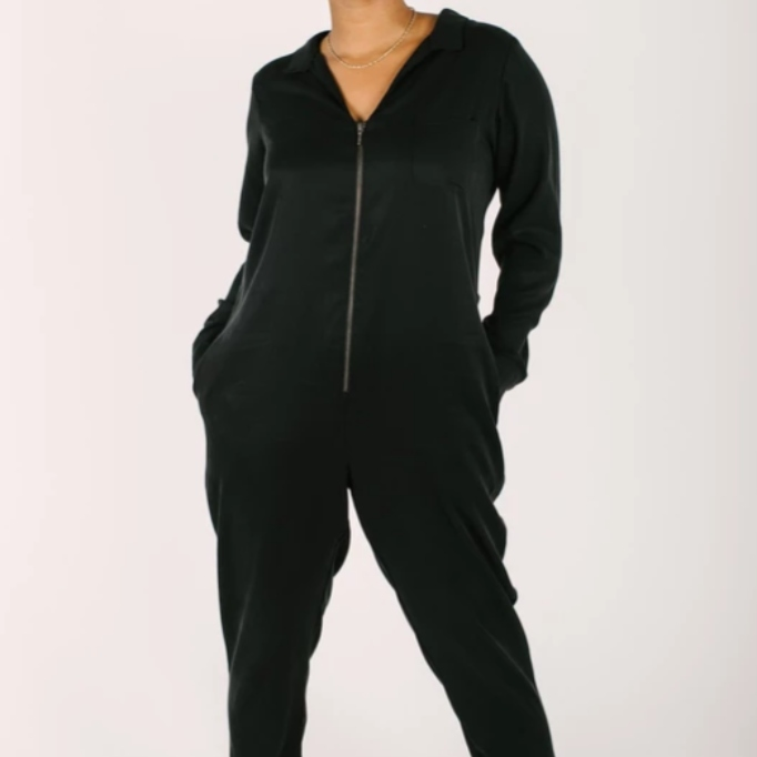 Celebrity Gift Guide: The Coveralls in Barely Black by Smash + Tess