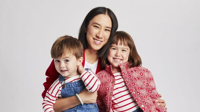 Eva Chen Launched Children's Fashion Collection