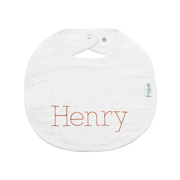 Trendy Bibs For Babies With Impeccable Style: Organic Cotton Personalized Bib