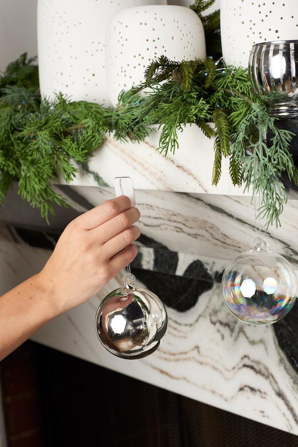 Mindy Weiss ornament shelf