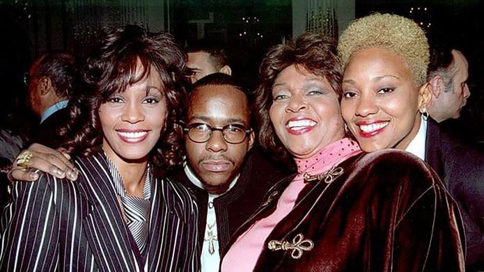 Robyn Crawford (far right) details her.