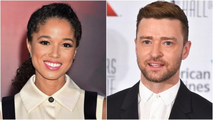 Alisha Wainwright; Justin Timberlake.