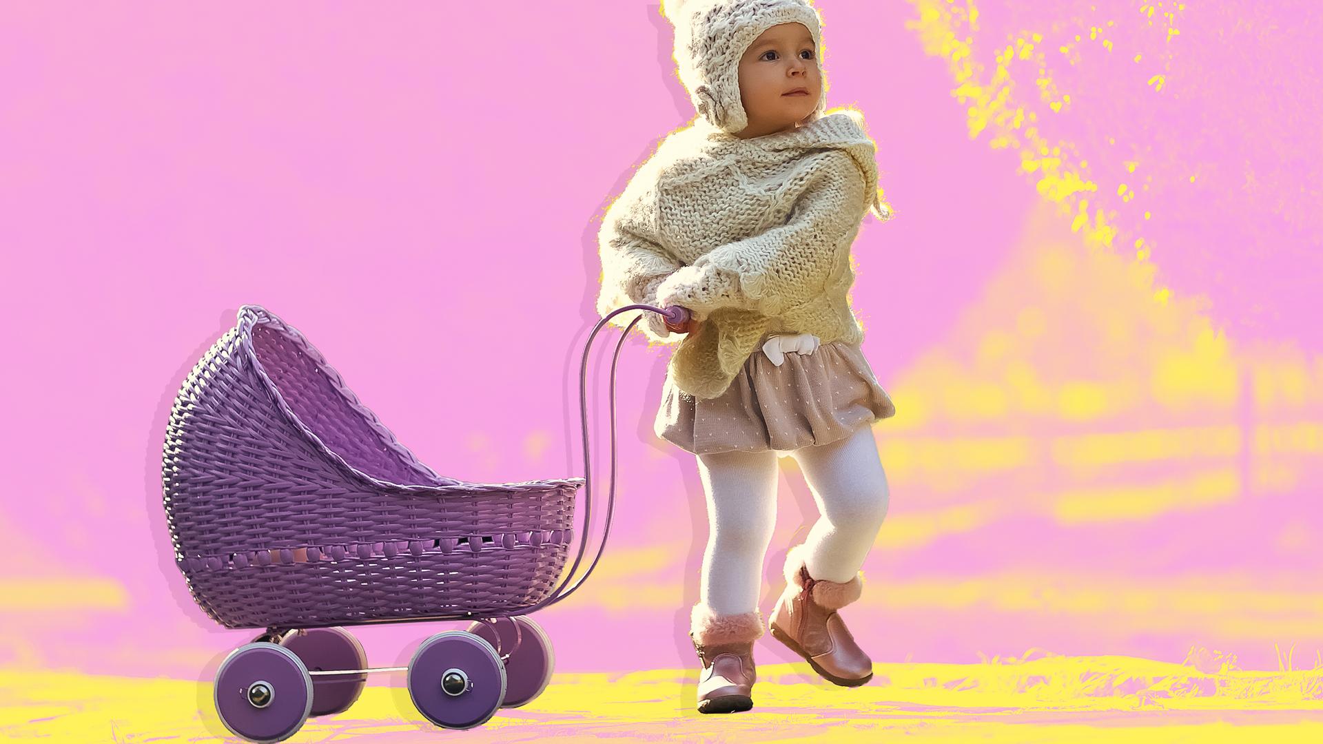 amazon doll stroller
