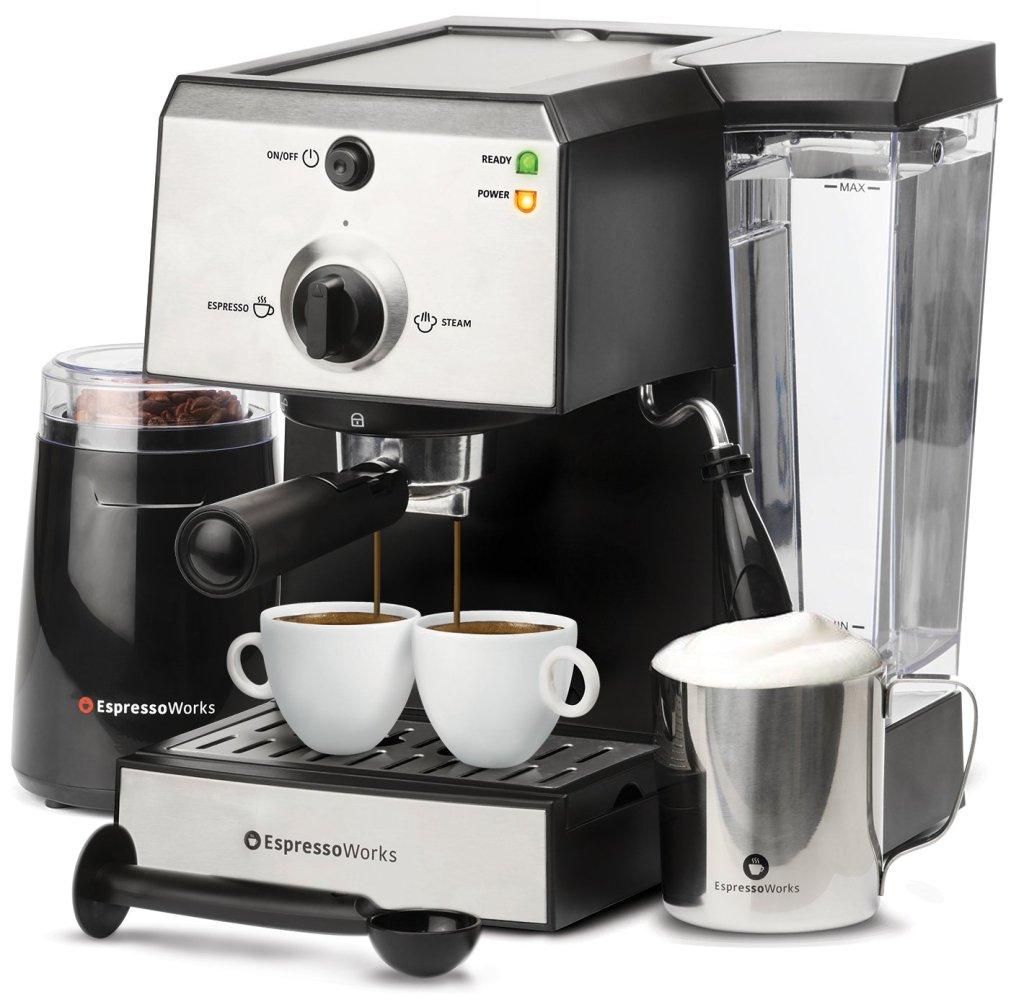 best espresso machines, espressoworks review