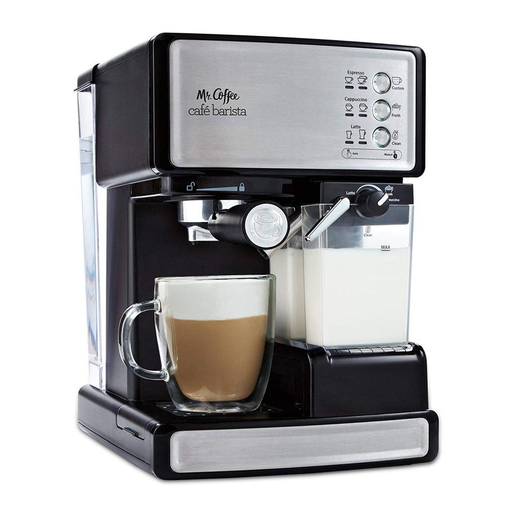 best espresso machine, mr coffee barista review