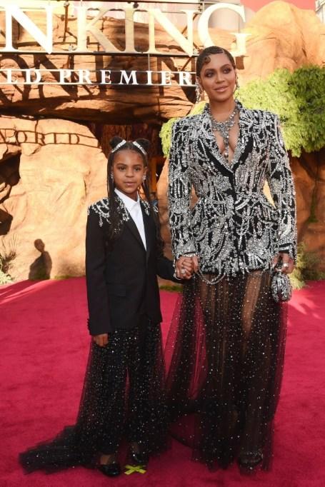Beyoncé & Blue Ivy.