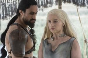 Emilia Clarke in 'Game of Thrones.'