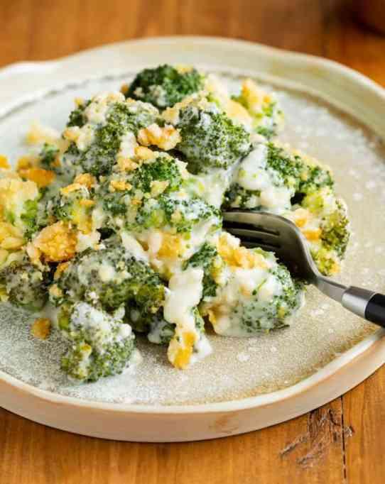 Cheesy Creamy Broccoli Casserole