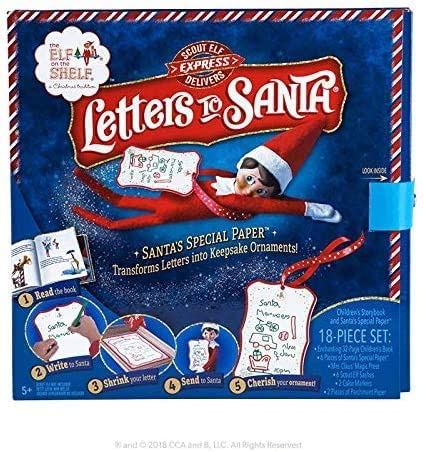 elf on the shelf, santa letters