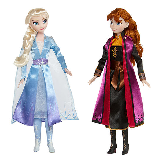 JCPenney Black Friday Toy Discounts: Disney Collection Frozen Elsa & Anna Doll Set
