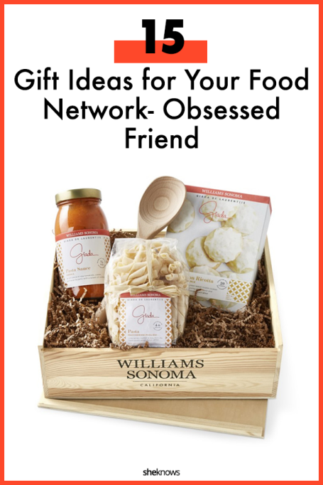 Gift Ideas for Food Network-Obsessed Friend