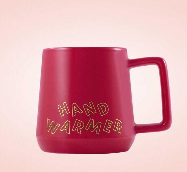 Starbucks hand warmer mug